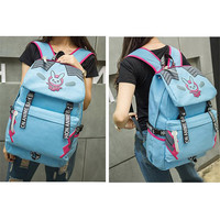 D VA Rabbit Knapsack OW Hot Game Cute Backpack Computer Package Gift