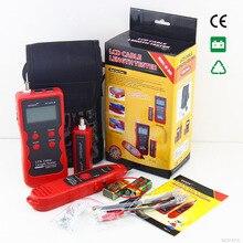 NF-868 digital Cable Tester Tracker for RJ45, RJ11 Anti-jamming crosstalk/ short-circuit/Lenth tester