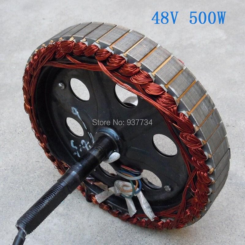 48V 500W Rotor For E-scooter/ Electric Bike Motor Stator/ Hub Motor Maintenance Part  G-M044