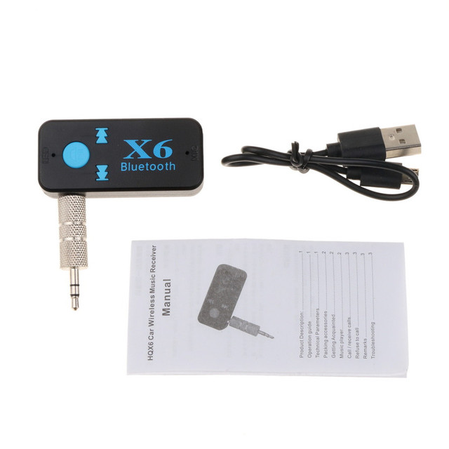 3.5mm Aux Jack Bluetooth 4.1 Receiver Handsfree Bluetooth Car Kit TF for Audio Car MP3 Music for Auto Speakers Headphone Adapter