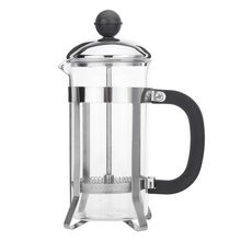 350ML Compact Size Household Use Stainless Steel Glass French Press Pot Filter Cafetiere Tea Coffee Maker Coffee Tool(China)