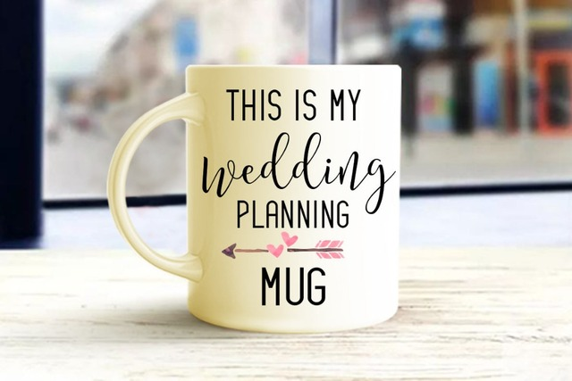Wedding Planning Mugs Beer Travel Cup Coffee Mug Tea Cups Home Decor Novelty Friend Gift Birthday
