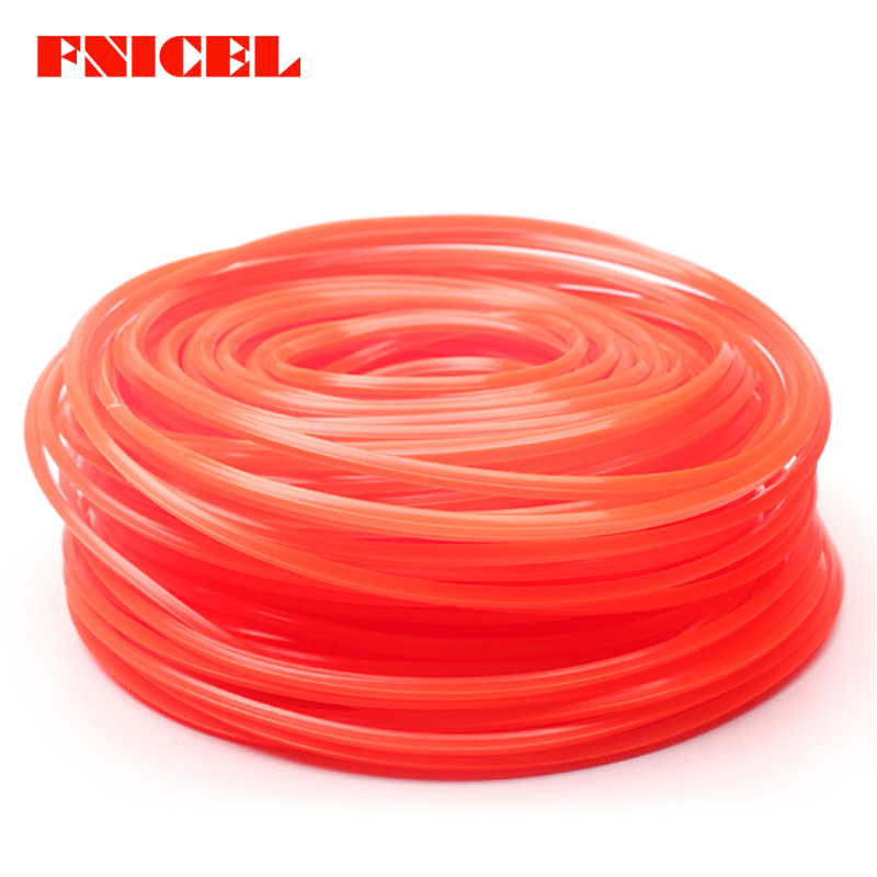 10m X 2mm Light Weight Cord Wire Round String Petrol Trimmer Red Strimmer Line