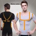Homens roupa interior absorvente Shaper barriga barriga Cincher cintura apertada perder peso de emagrecimento de Top