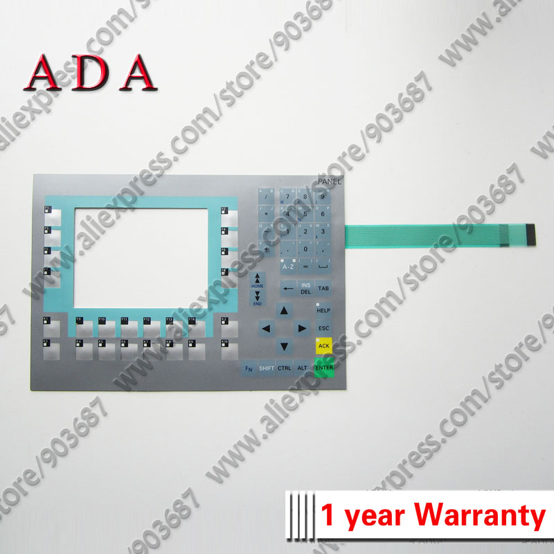 "6AV6643-0BA01-1AX0 OP277 6"" Membrane Keypad Switch for 6AV6 643-0BA01-1AX0 OP277 6"" Membrane Keyboard"
