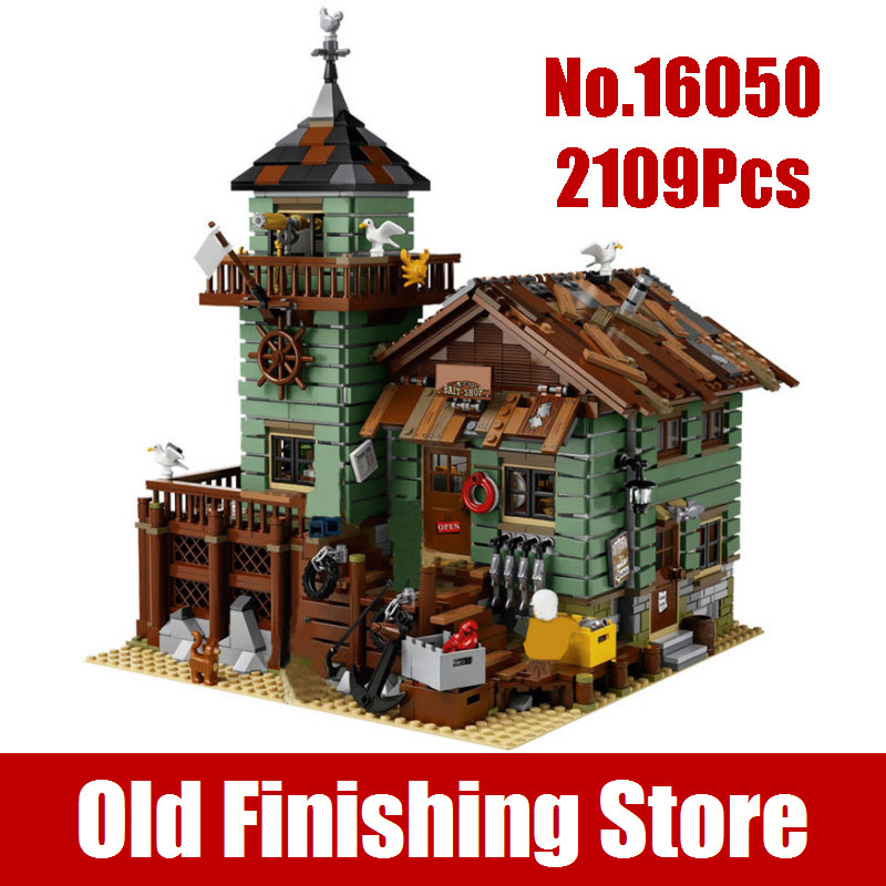 New 2109Pcs MOC Series Lepin 16050 The Old Finishing Store Set Educational Building Blocks Bricks Best Children Gift Toys 21310 куплю машину лада 2109 беушную