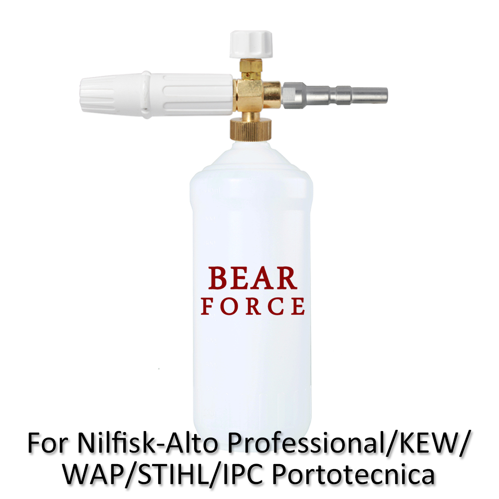 Foam Generator/ snow Foam lance nozzle sprayer for NilfiskAlto WAP KEW IPC  Portotecnica STIHLE Professional High Pressure Washer