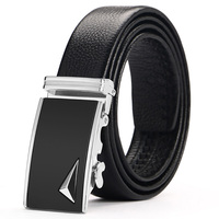 New Belt Men Top Quality Genuine Luxury Leather Belts For Men Strap Male Metal Automatic Buckle2018