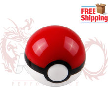 Gratis verzending Diameter 54mm Pokemon PokeBall Racing Pookknop M10X1.5/M8x1.25/M10x1.25/M12x1.25 SK058(China)