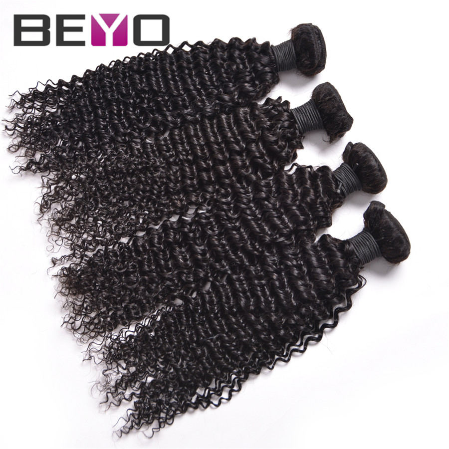 Best Peruvian Kinky Curly Virgin Hair 4 Bundles 8A Afro hair Thick Human Weave