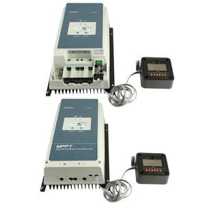 Image 5 - EPever 50A MPPT Charge Controller 48 V/36 V/24 V/12 V Max 150V 2500W Input Negative Ground Fit AGM ปิดผนึกเจลน้ำท่วมแบตเตอรี่ LCD