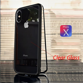 Glass Magnet iPhone Xs Case