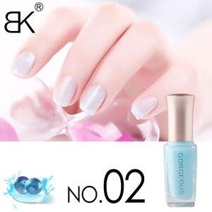 Image 2 - Новый лак для ногтей конфетный телесный цвет Быстросохнущий полупрозрачный Желейный лак для ногтей 10 мл Защита окружающей среды стойкий незаметный