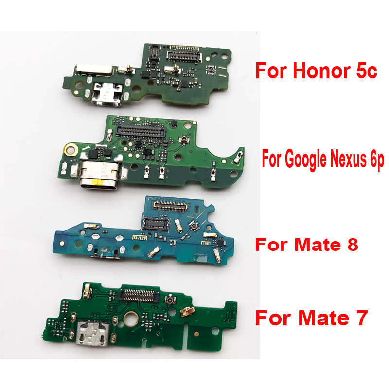 10 Pcs/Lot ,USB Plug Port Charging Data Charger Dock Board Microphone For Huawei Honor 5c 5A Mate 7 8 9 G8 P9 Lite G9