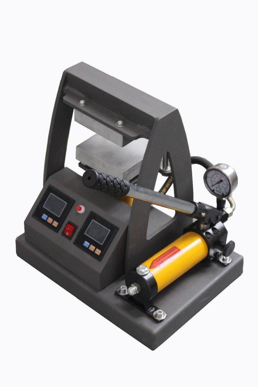 Haute Pression double chauffage plaques hydraulique colophane presse de la chaleur