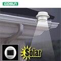Portátil Painéis Solares LEVOU Luz Solar Cerca Produzido Gutter Solar Luzes Ao Ar Livre Lâmpadas Solares Jardim Paisagem Iluminação À Prova D' Água