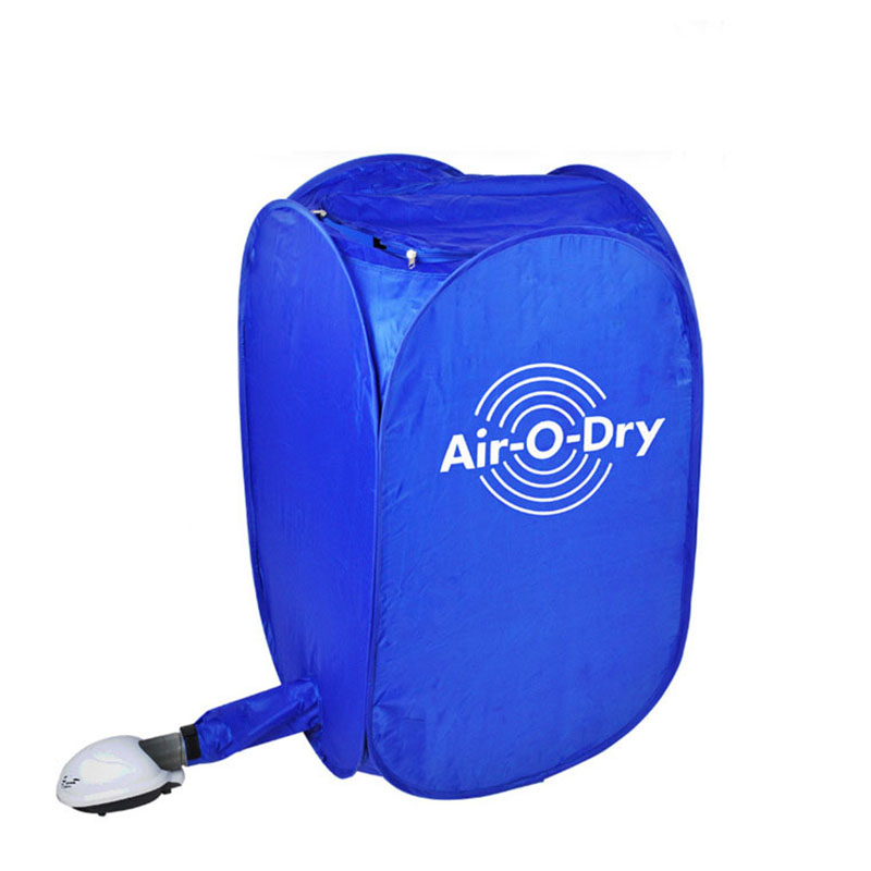 Electric Air Clothes Dryer Mini Blue Fast Drying Machine 800W Multipurpose Cloth Airer Folding Dryer Portable Secadora De Ropa