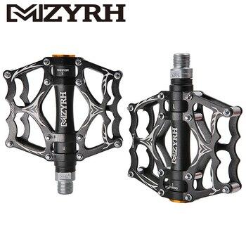 MZYRH 12 Cores Y05 Bicicleta Pedais Sealed Bearing Pedais CNC Machined de Alumínio Ultraleve Ciclismo MTB Acessórios Da Bicicleta de Montanha