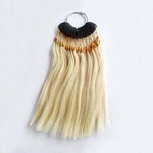 30 шт./компл. подвергавшиеся химическому воздействию) волос функция управления цветовым кольцом для пряди человеческих волос для наращивания и салон для окрашивания волос образец, может быть окрашенные в любой цвет