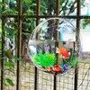 Free Shipping Acrylic Fish Bowl Wall Hanging Aquarium Tank Aquatic Pet Supplies Pet Products Wall Mount Fish Tank