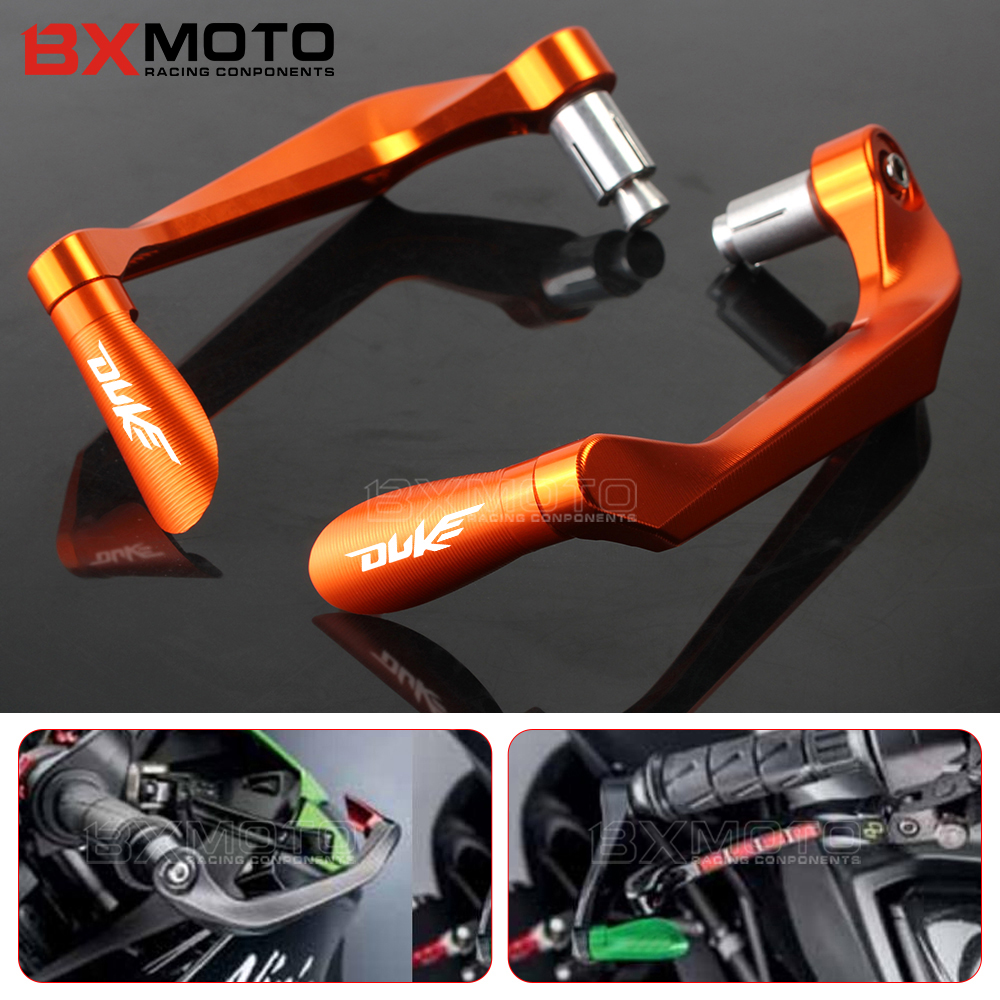 For KTM duke 125 200 390 690 990 1290 duke RC 390 125 Motorcycle 7/8 Handlebar Grips Guard Brake Clutch Levers Guard Protector bjmoto cnc aluminum wheel roller short brake clutch levers for ktm duke 390 2013 2018 duke 200 125 250 rc 125 200 2014 2018