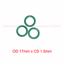 OD 17mm x CS 1.5mm fkm viton rubber o type ring o-ring oring gasket seal 2piece size 550mm 542mm 4mm viton o ring seal dichtung green gasket of motorcycle part consumer product o ring