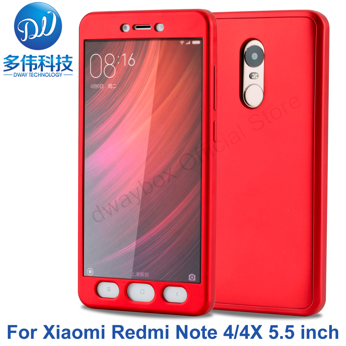 New Fashionable Luxury TPU Soft Silicon 360 Degree Full Body Shockproof Protective Phone Case For Xiaomi