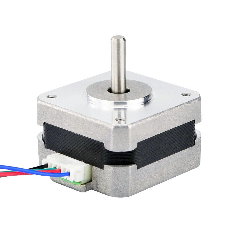 4-Lead Nema 17 Stepper Motor Bipolar 1.8 Degree 18Ncm (25.5oz.in)0.7A 3D Printer CNC Robot 5pcs nema 14 stepper motor 25 5oz in 18ncm 5 4v 0 8a bipolar 3d printer makerbot 3d printer prusa makerbot reprap cnc robot