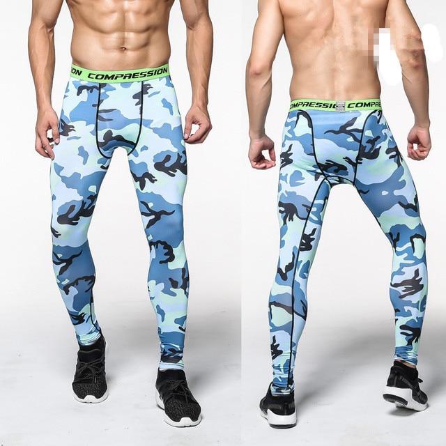 Mens Compression Sweatpants Camouflage Leggings For Man Fashion Joggings Trousers Long Fitness Clothing Plus Size Pantalon Homme 4