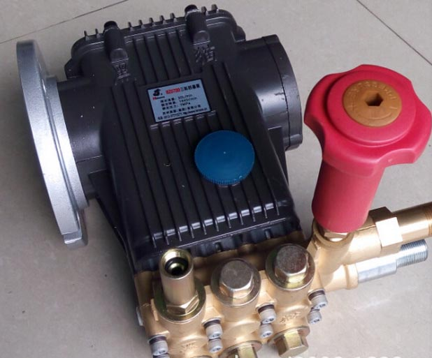 Electric High Pressure Water Pump Head Copper Industrial Car Wash Machine