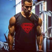 Fitness Männer Tank Top Bodybuilding Stringer Tank Tops Singlet Marke turnhallen Kleidung baumwolle Ärmelloses Shirt muscle tops