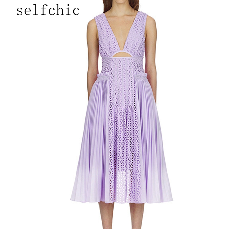Purple Dress Women 2018 Summer Sexy Lace Dresses Party Vestidos SALE