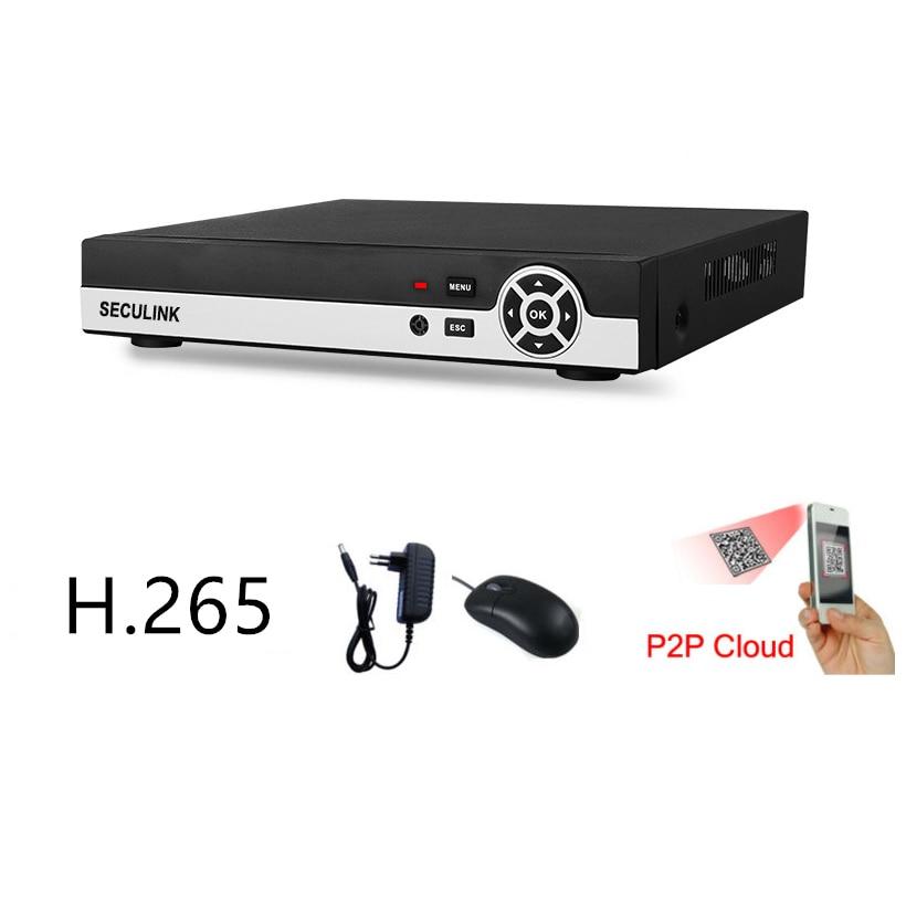Seculink 4CH 8CH 16CH 4MP/5MP 5-in-1 AHD Digital Video Recorder Super HD DVR ONVIF Compliant H265 Cloud P2P Remote AccessSeculink 4CH 8CH 16CH 4MP/5MP 5-in-1 AHD Digital Video Recorder Super HD DVR ONVIF Compliant H265 Cloud P2P Remote Access