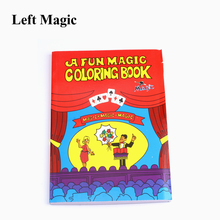 Funny Comedy Magic Coloring Book Medium size ellusionist magic tricks illusion kids toy gift tour de magie E3164