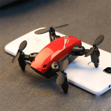 Mini Drone With Camera S9 No Camera Foldable RC Helicopter Altitude