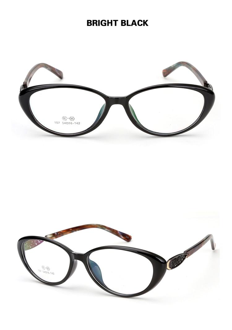 db6895615fe Chashma Brand Cat Eye Glasses Frame FEmale Black Eyewear TR90 Fashion  Stylish Optical Women  s Eyeglasses Frame. xq Size 1 YS xijie. Prescription  Lenses ...