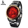 7 Colors Relogio Masculino Luxury Top Brand Mens Red Mechanical Watch Full Steel Automatic Male Watches Clock IK Colouring/98226
