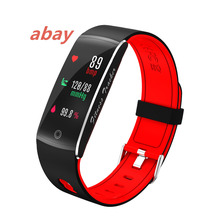 Red F10 Support Heart Rate Blood Oxygenation Blood Pressure Sleep Monitor Calorie Burn Workout Smart Watch Android IOS