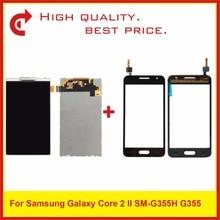 "4,5 ""Für Samsung DUOS Core 2 SM G355H G355M G355H G355 Lcd Display Mit Touch Screen Digitizer Sensor Panel Pantalla monitor"