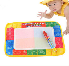 Fashion Cute Baby Childrens Toddler Kids Toys Water Scrawl Mat Drawing Painting Magic Pen Drawing Toys