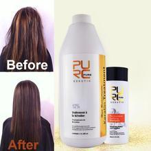 12% Формалина бразильский лечение кератином и 100 мл глубоко cleanning шампунь оптовая Профессиональный салон причесок уход за волосами(China (Mainland))