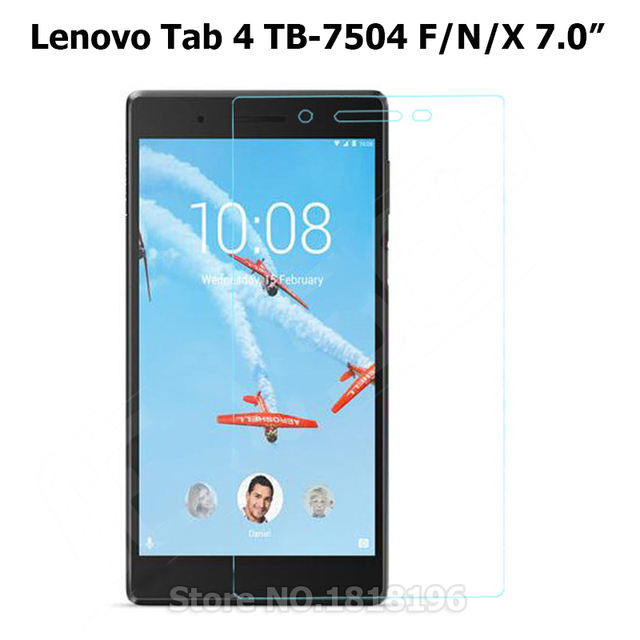 "Ultra-thin Tempered Glass For Lenovo Tab 4 7"" TB-7504 F/N/X Tablet  Screen Protector Protective Film Case for Lenovo Tab 7 7504x"