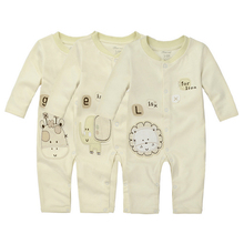 Y14 New Baby Romper Suit Adopting The High Quality Organic Cotton Long Sleeve Warm Clothing 100