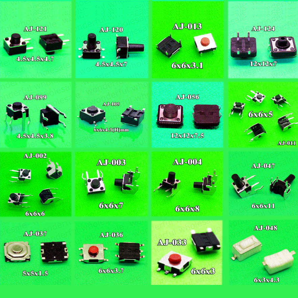 Quality Momentary Tactile Push Button Switch Spst