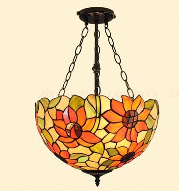 Colorful European Mediterranean art pendant lamps entrance bedroom balcony garden aisle warm Tiffany creative Pendant Lights zcl tiffany restaurant in front of the hotel cafe bar small aisle entrance hall creative pendant light mediterranean df66