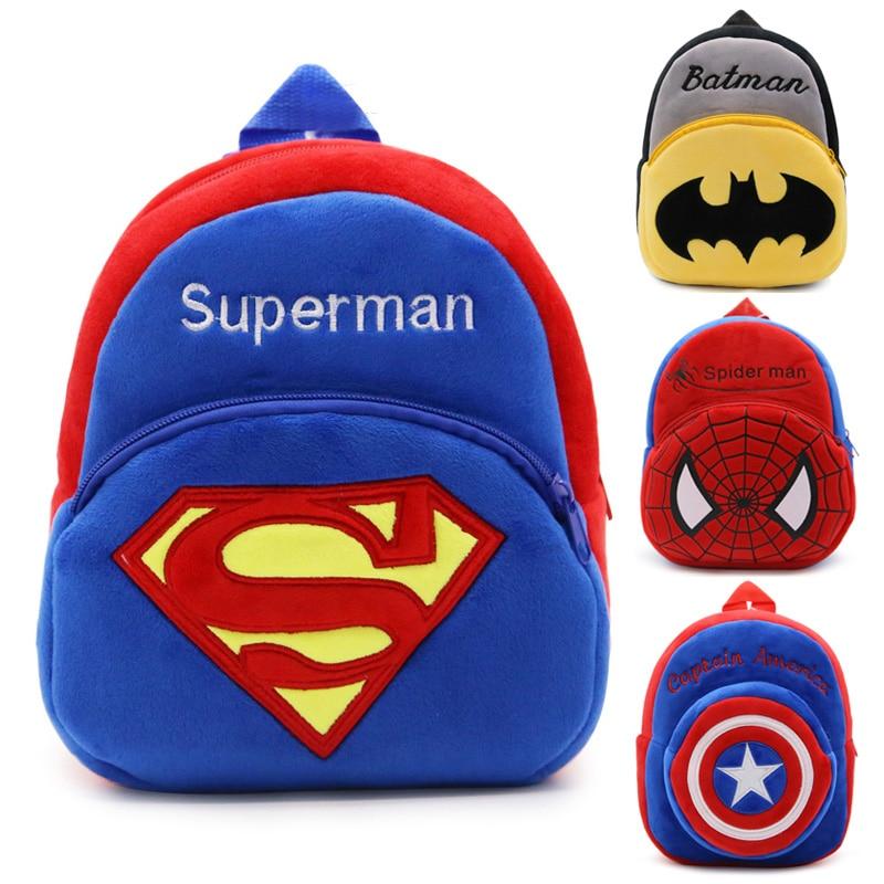 New Cute Children School Bag Cartoon Mini Plush Backpack For Kindergarten Boys Girls Baby Kids Gift Student Lovely Schoolbag