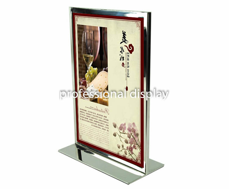 Exhibition Stand Advertising : Metal a poster frame stand billboard display