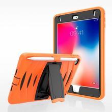 Conelz For iPad Mini 5  Case 4 impact wave Silicon PC Stand cover mini mini5 Case+Pen slot