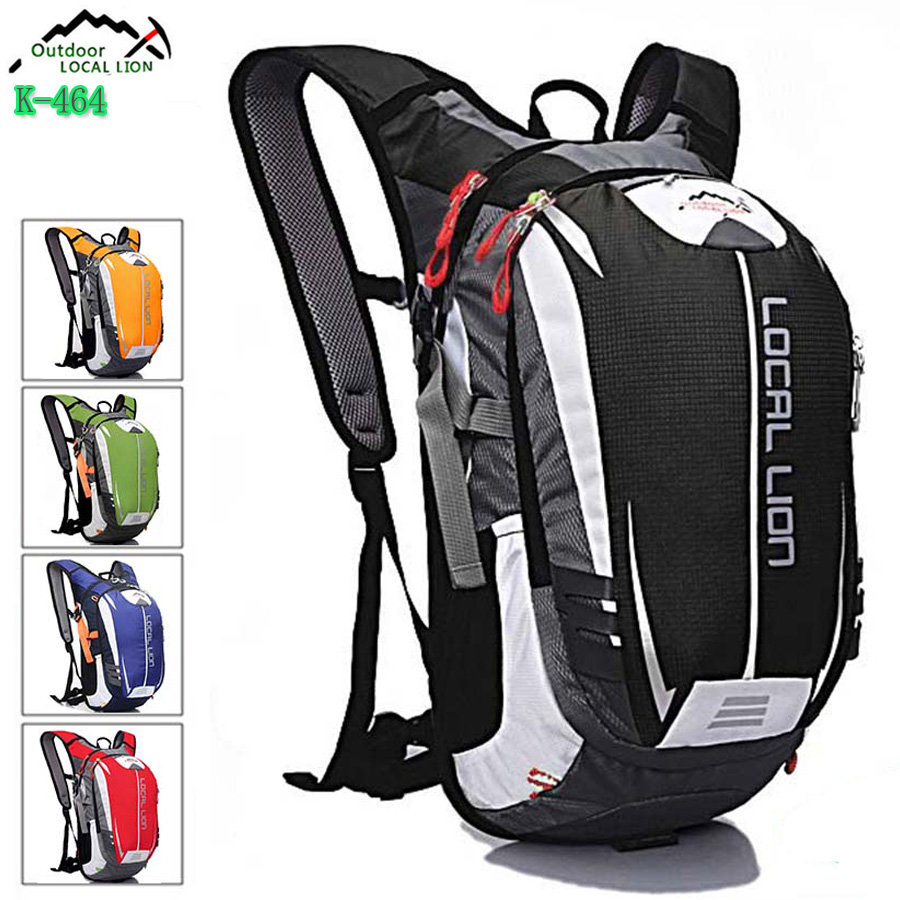LOCAL LION 18L Sport Bag Waterproof Bicycle Backpack Cycling Bike Rucksacks Packsack mtb Riding Running Backpack Ride pack Bags 18l waterproof camping backpack outdoor sports climbing riding cycling bag sport rucksacks knapsack motorcycle riding bag