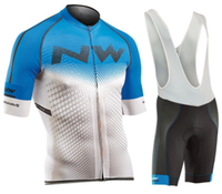 2019 NW Pro Cycling Jersey Set Breathable Team Racing Sport Bicycle Jersey Mens Cycling Clothing Short Bike Jersey Northwave